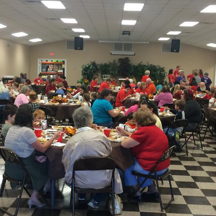 Thanksgiving Meal at the Mission of Hope Dora, Alabama